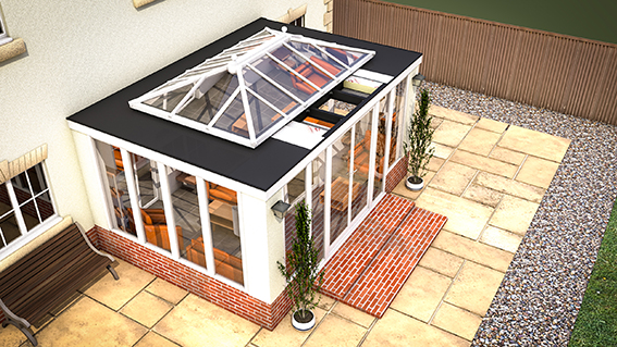 Lekau0027s Lightweight Orangery Roof System Is Available Now From Top South  Coast Window And Door Fabricator, Window Warehouse. The New System,  Launched At FIT ...