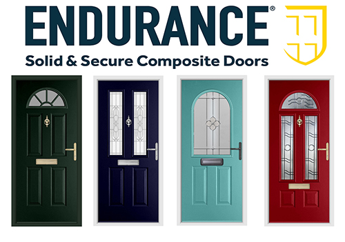 Classic Collection of composite doors from Endurance