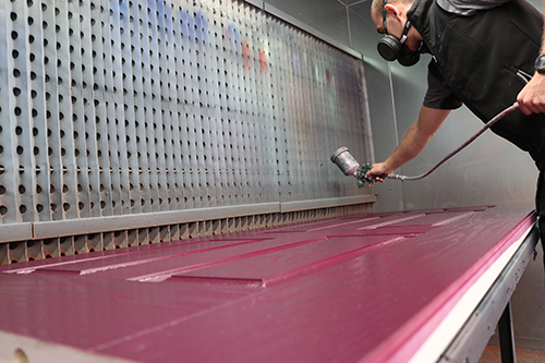 Sliders UK launches new in-house composite door spray-painting facility