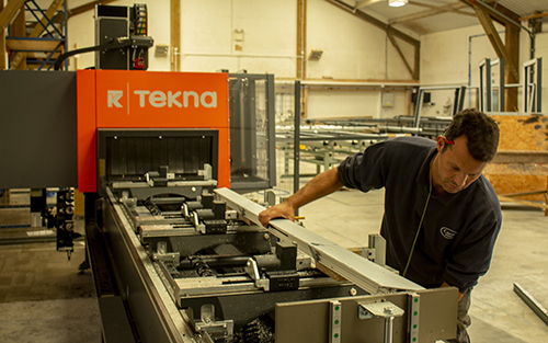 Tekna machining centre proves the right choice for Devon-based fabricator Camel Glass